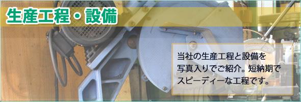 生産工程と設備